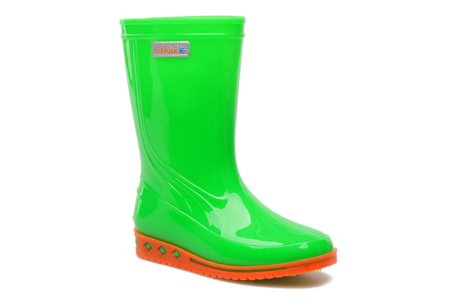 Boots & wellies Méduse Boreal Green detailed view/ Pair view