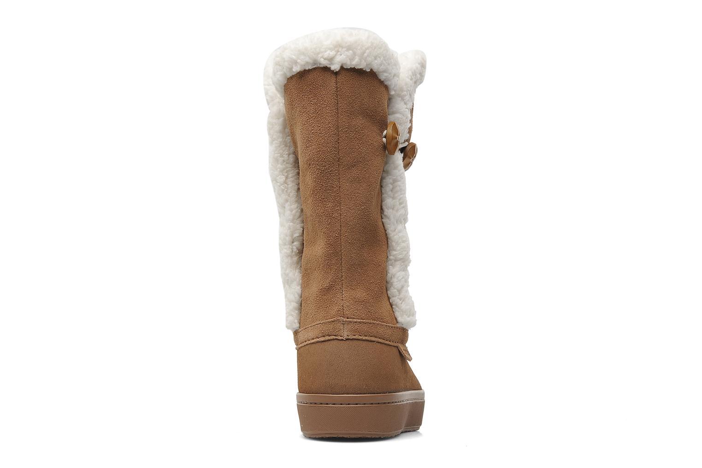 Stiefeletten & Boots Crocs Modessa Suede Button Boot braun ansicht von rechts