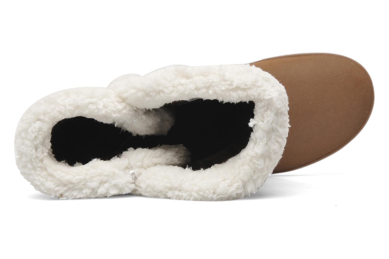 Stiefeletten & Boots Crocs Modessa Suede Button Boot braun ansicht von links