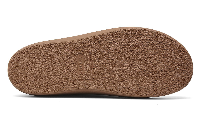 Bottines et boots Crocs Modessa Suede Button Boot Marron vue haut