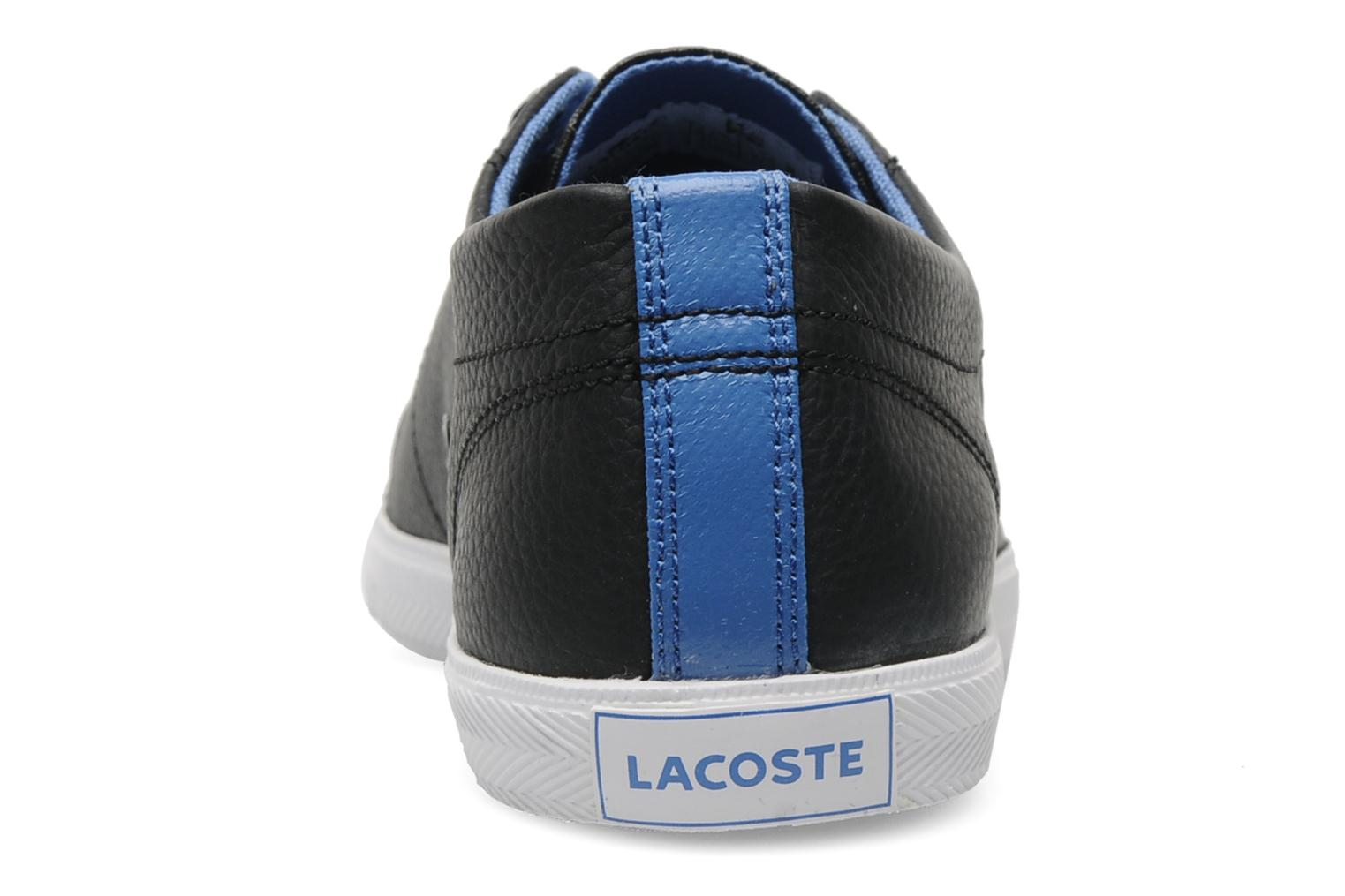 Trainers Lacoste Marcel Mov Black view from the right