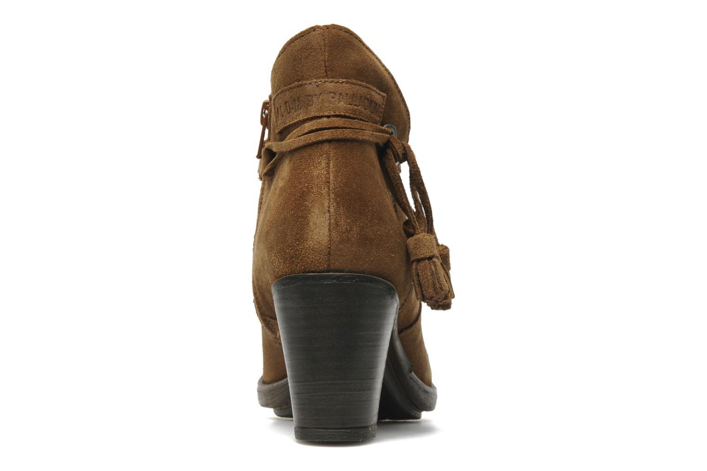 Bottines et boots P-L-D-M By Palladium Siskin Sud Marron vue droite