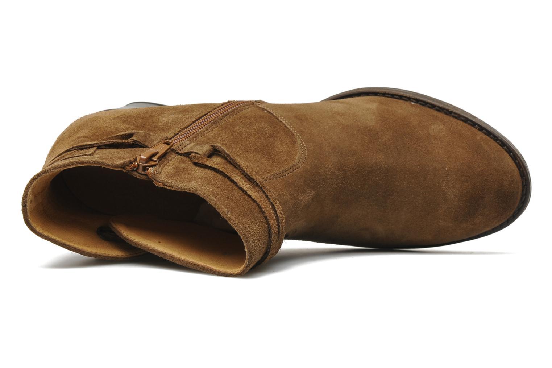 Bottines et boots P-L-D-M By Palladium Siskin Sud Marron vue gauche