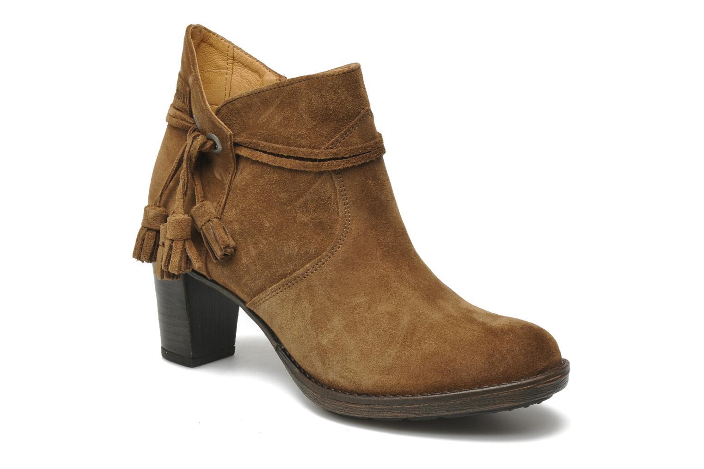 Bottines et boots P-L-D-M By Palladium Siskin Sud Marron vue détail/paire