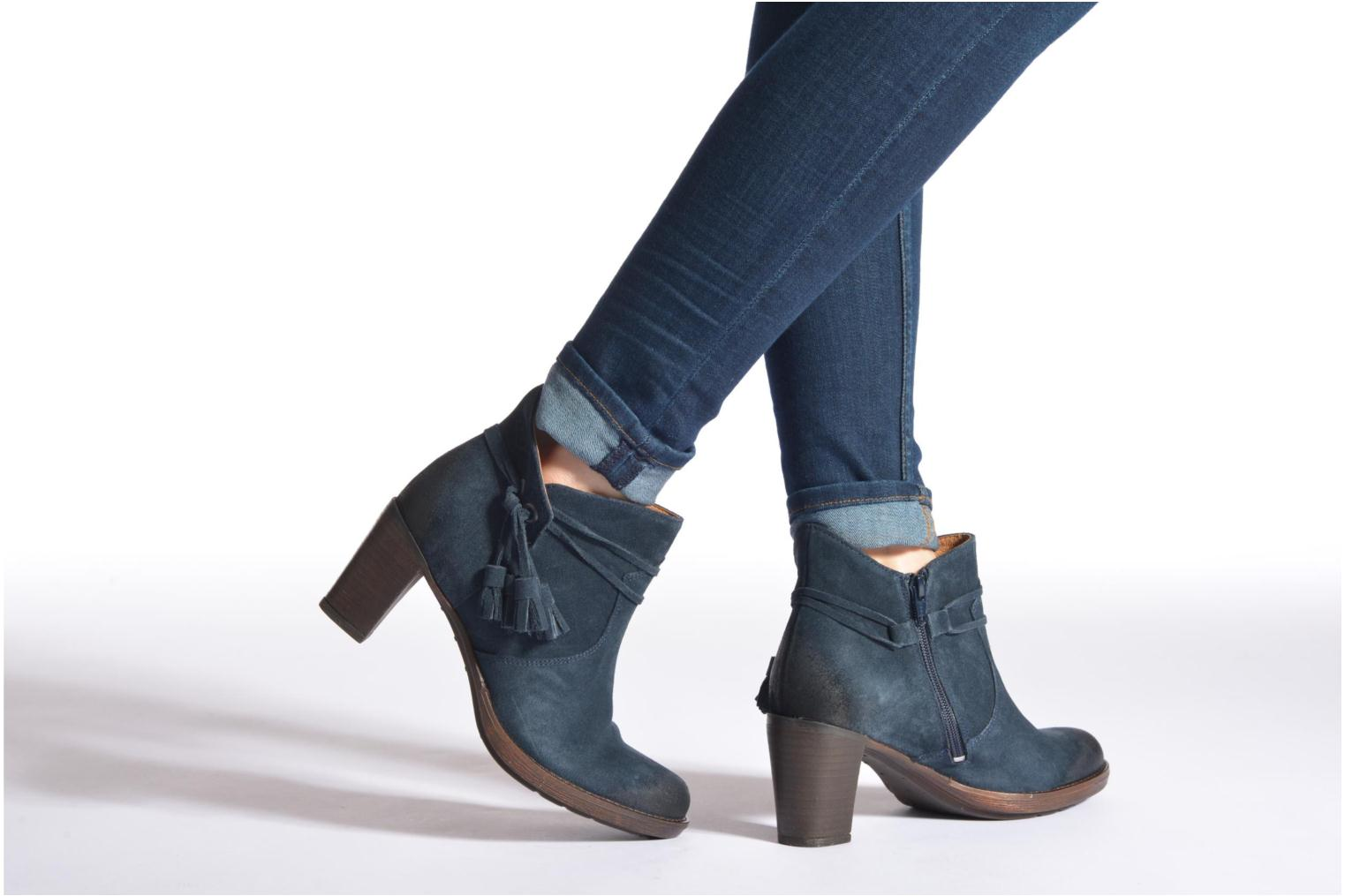 Ankle boots P-L-D-M By Palladium Siskin Sud Grey view from underneath / model view