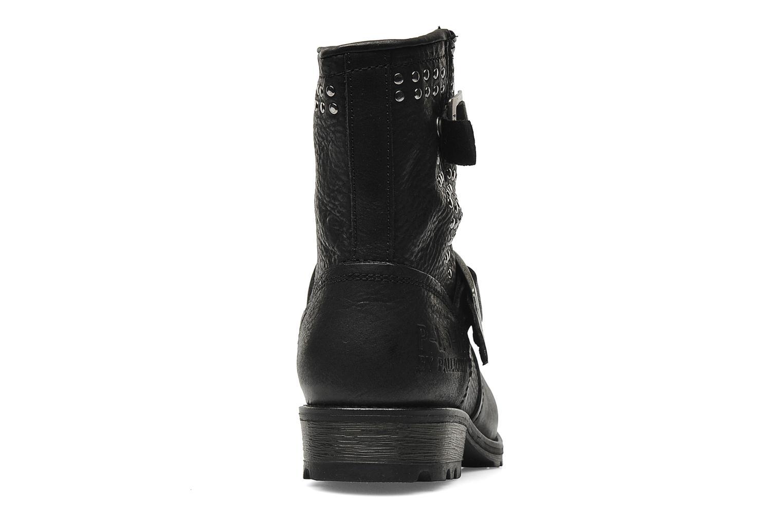 Bottines et boots P-L-D-M By Palladium Upcast Stud Noir vue droite