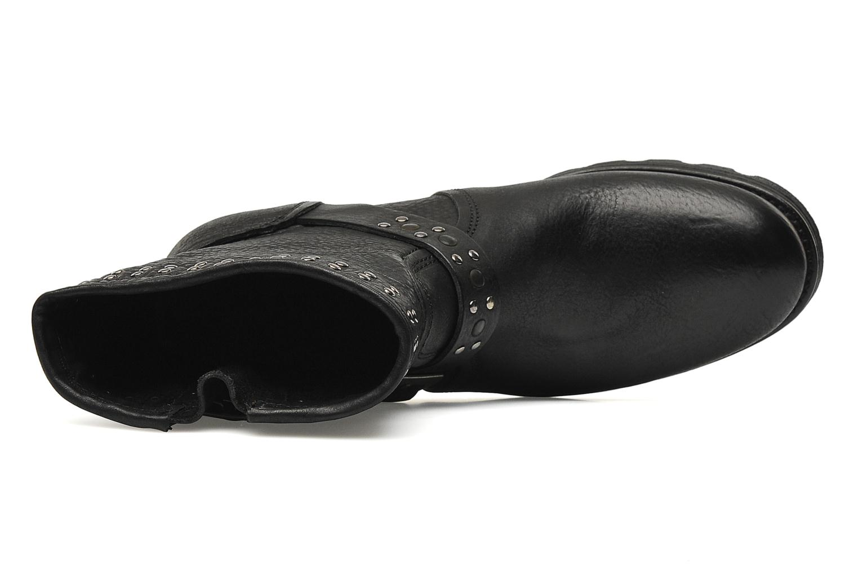 Bottines et boots P-L-D-M By Palladium Upcast Stud Noir vue gauche