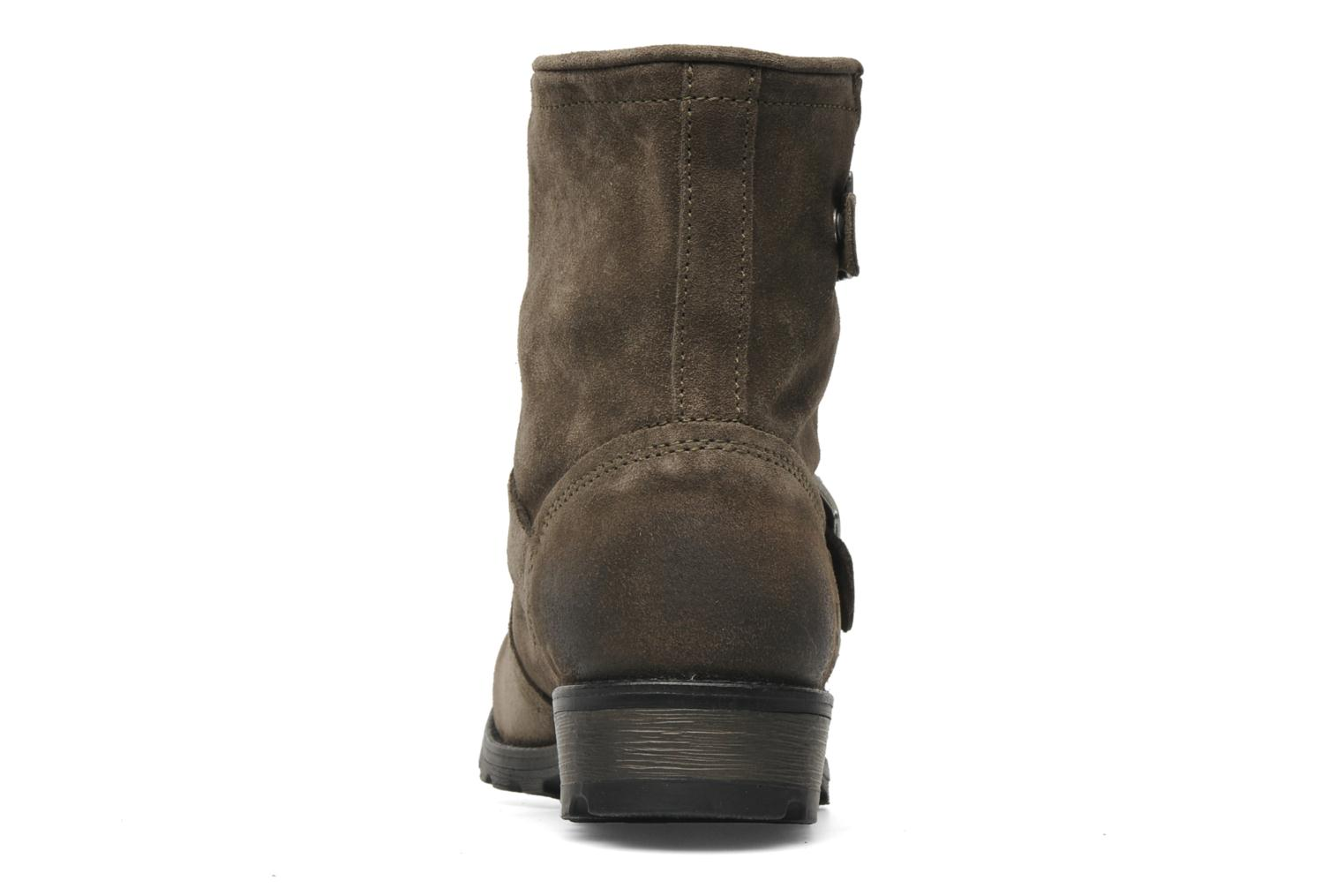 Ankle boots P-L-D-M By Palladium Upcast Sud Grey view from the right