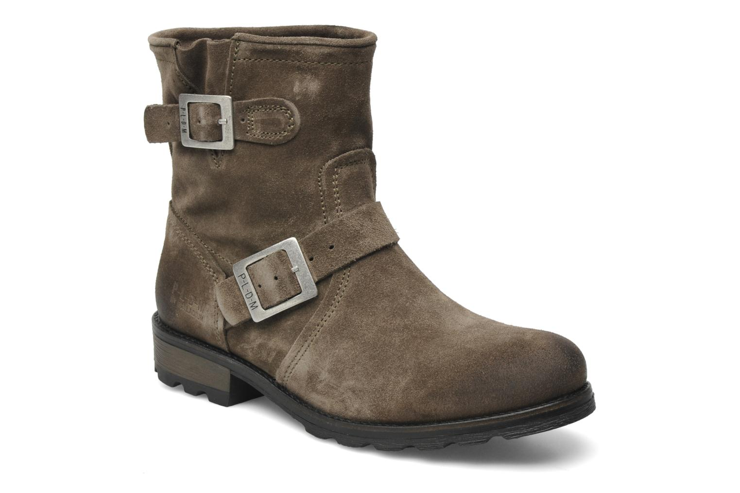 Ankle boots P-L-D-M By Palladium Upcast Sud Grey detailed view/ Pair view