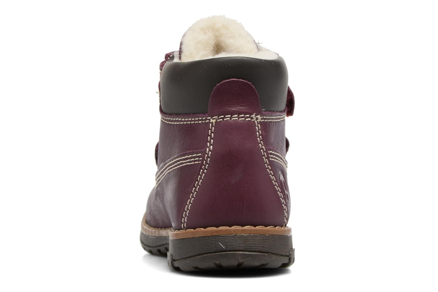 Ankle boots Primigi ASPY 1 Purple view from the right
