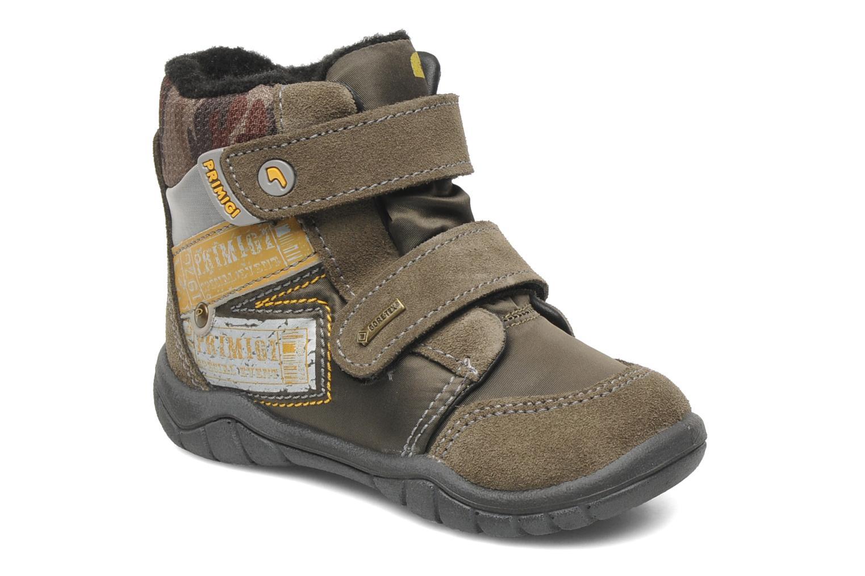 Ankelstøvler Primigi MIRCO-E Brun detaljeret billede af skoene