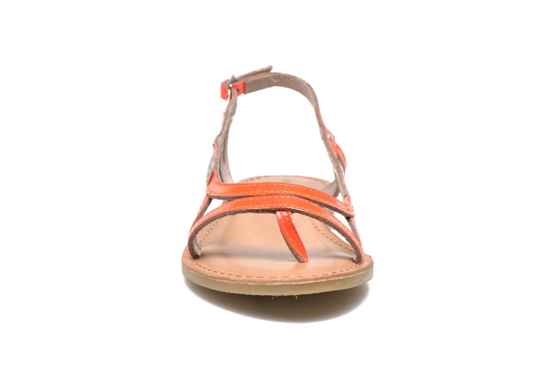 Sandali e scarpe aperte Les Tropéziennes par M Belarbi ISATIS E Rosa modello indossato