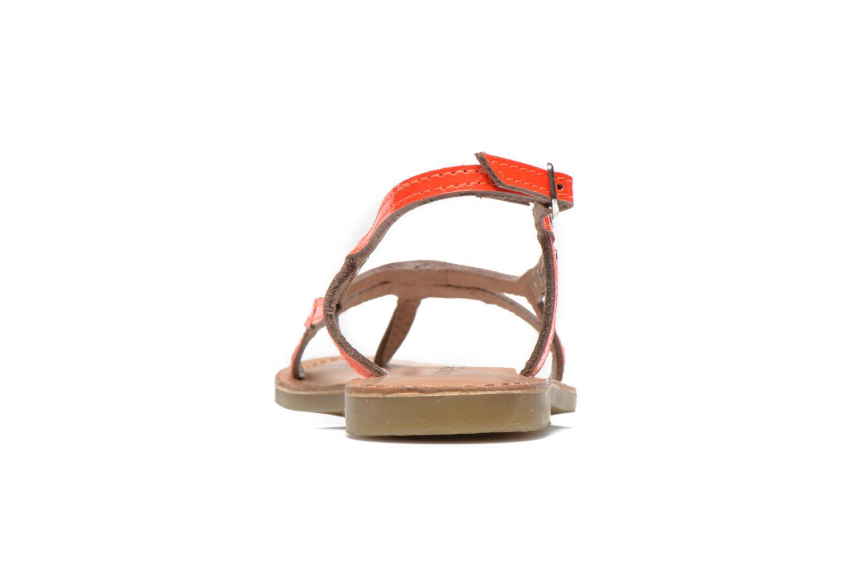 Sandalen Les Tropéziennes par M Belarbi ISATIS E rosa ansicht von rechts