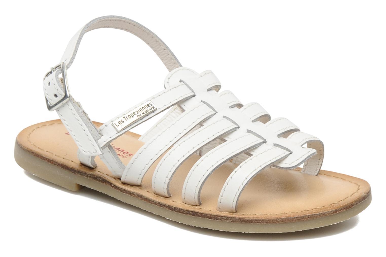 Sandaler Les Tropéziennes par M Belarbi LILOU Hvid detaljeret billede af skoene