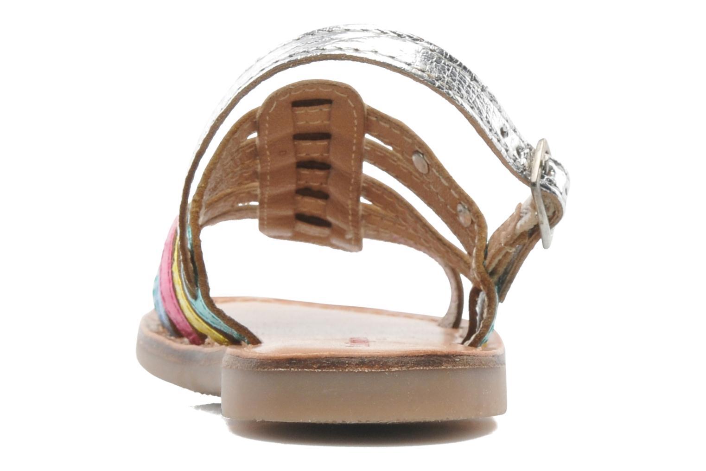 Sandalias Les Tropéziennes par M Belarbi LILOU Multicolor vista lateral derecha