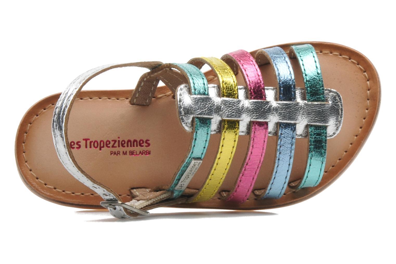 Sandalias Les Tropéziennes par M Belarbi LILOU Multicolor vista lateral izquierda