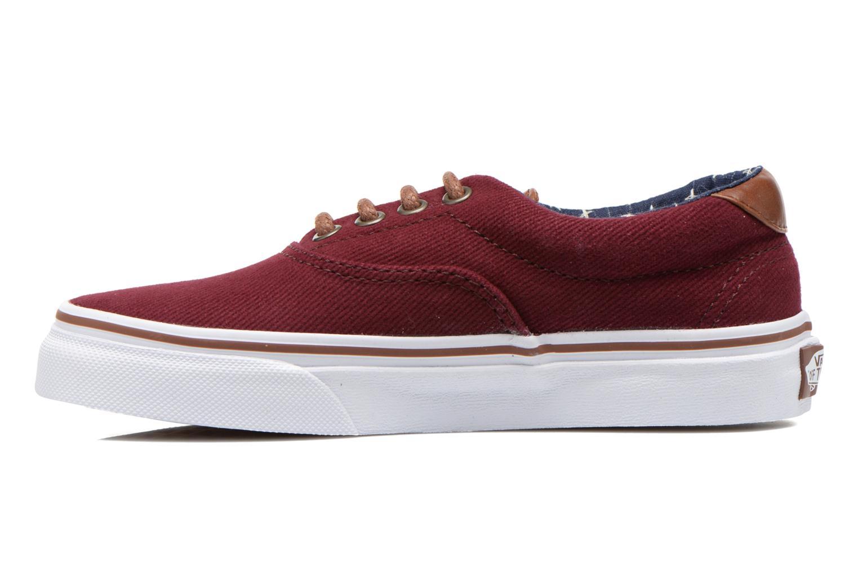 Sneakers Vans Era 59 e Bordeaux voorkant