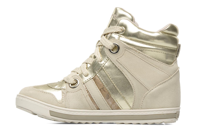 Sneakers Skechers Tekkies 47984 Goud en brons voorkant