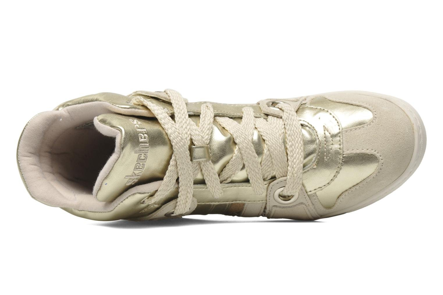 Sneakers Skechers Tekkies 47984 Goud en brons links