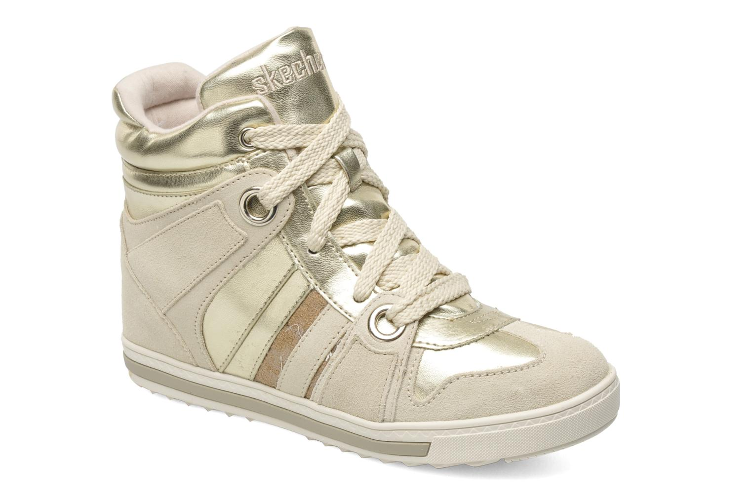 Sneakers Skechers Tekkies 47984 Goud en brons detail