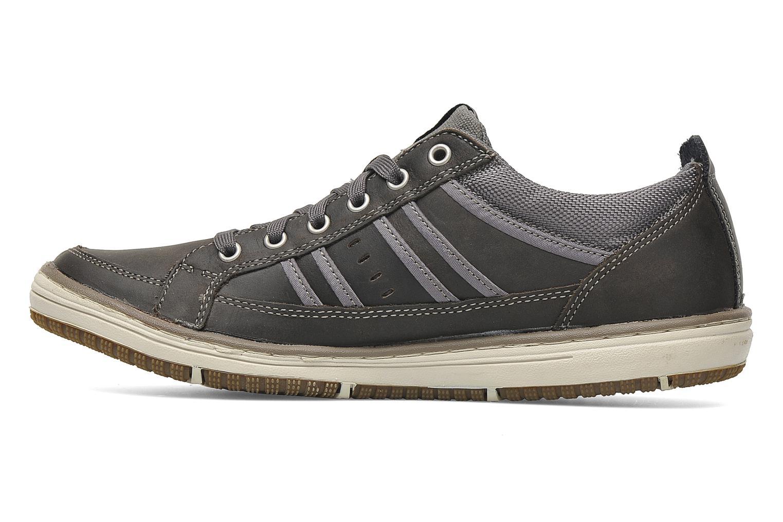 Sneaker Skechers Irvin Hamal 63418 grau ansicht von vorne