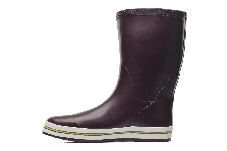 Boots en enkellaarsjes Havaianas Aqua Rain Boots Paars voorkant