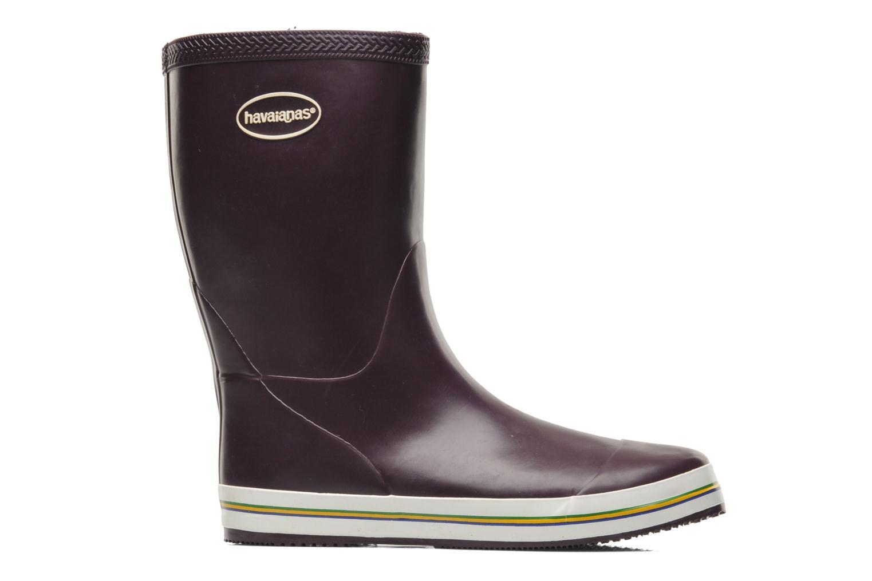 Boots en enkellaarsjes Havaianas Aqua Rain Boots Paars achterkant