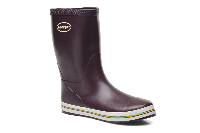 Stiefeletten & Boots Havaianas Aqua Rain Boots lila detaillierte ansicht/modell
