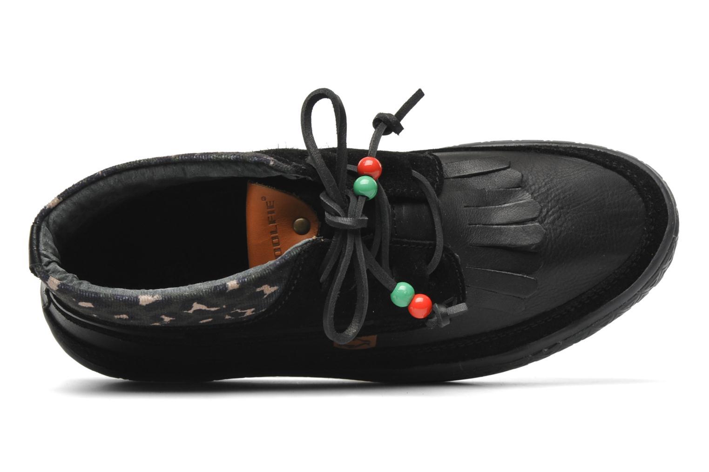 Mahe M Black leather