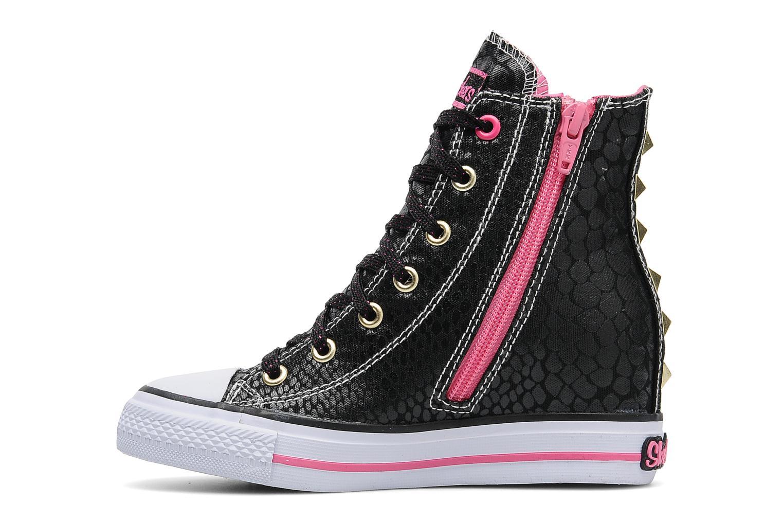 Sneakers Skechers Gimme-Mucho Dinero Zwart voorkant