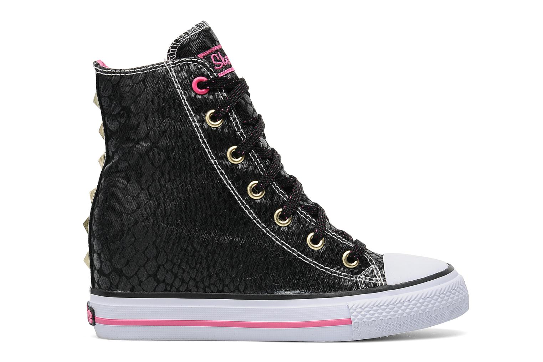 Sneakers Skechers Gimme-Mucho Dinero Zwart achterkant