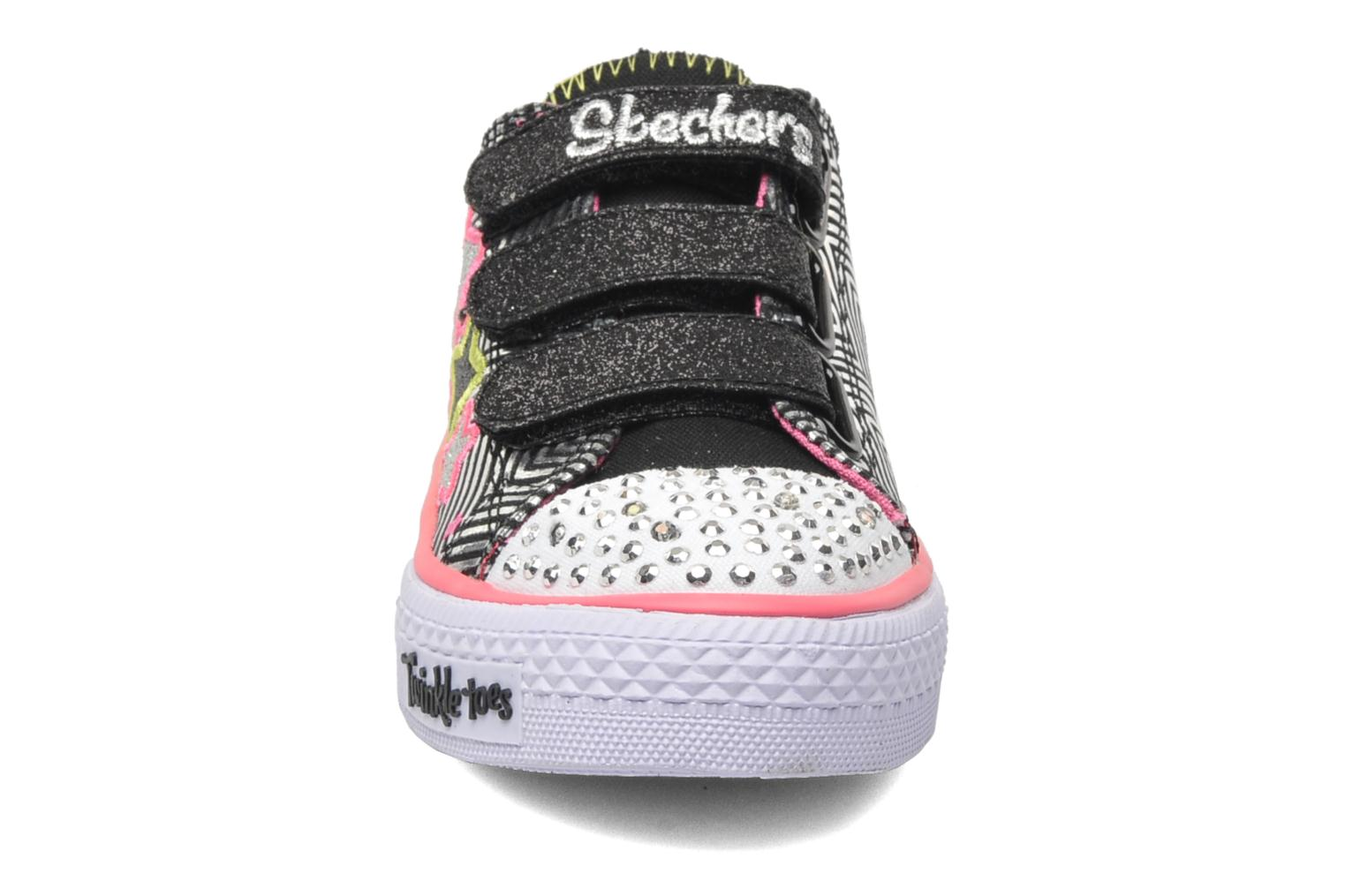Sneakers Skechers Shuffles-Triple Up Zilver model