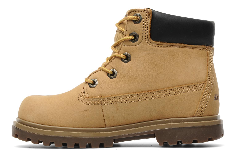 Stiefeletten & Boots Skechers Mecca Lumberjack gelb ansicht von vorne