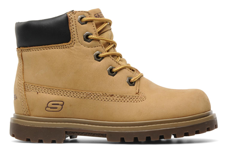 Stiefeletten & Boots Skechers Mecca Lumberjack gelb ansicht von hinten