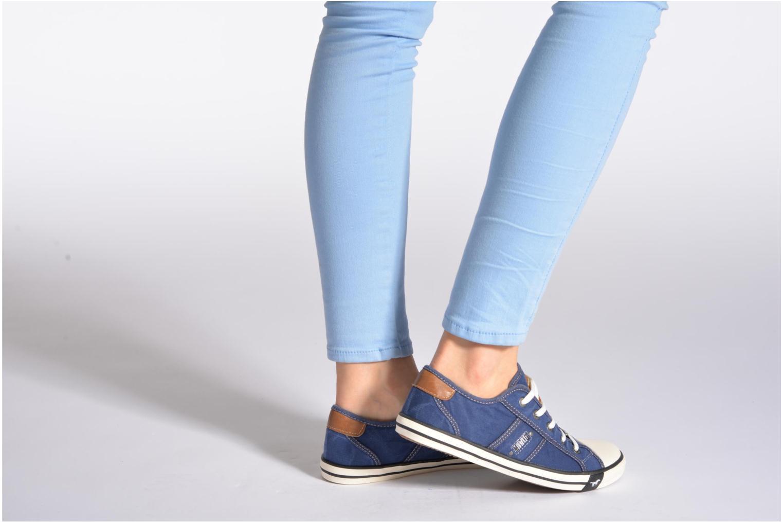 Sneakers Mustang shoes Pitaya Beige onder