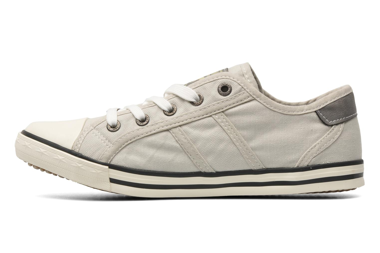 Sneakers Mustang shoes Pitaya Beige immagine frontale