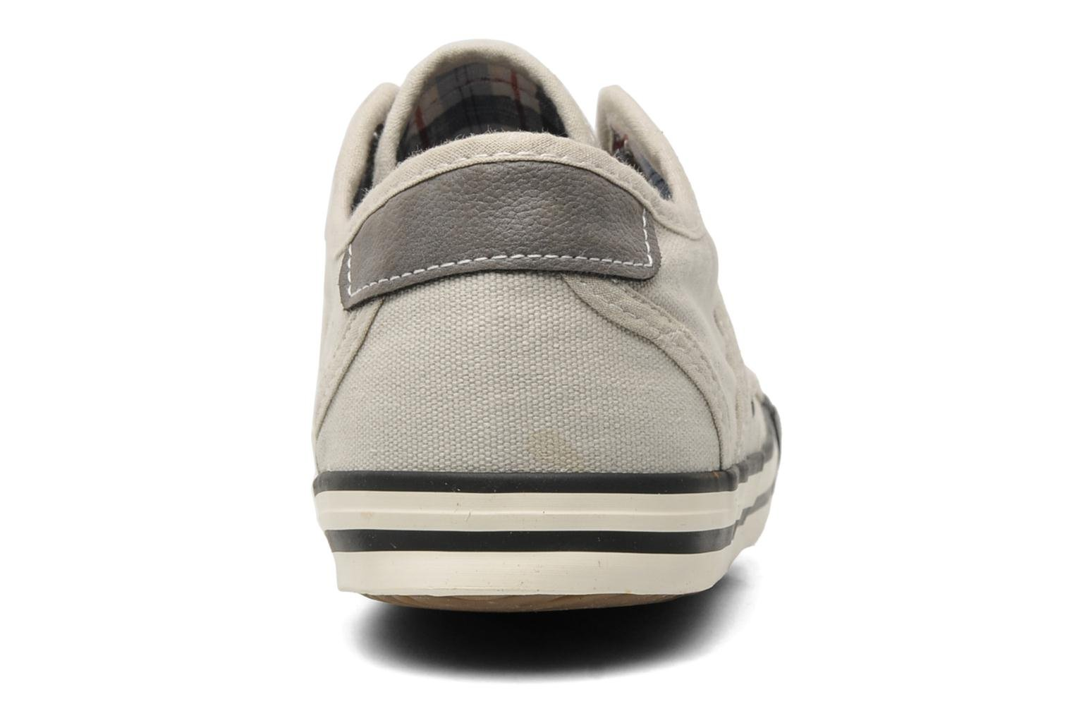 Baskets Mustang shoes Pitaya Beige vue droite