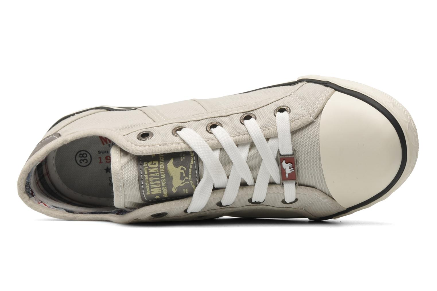 Sneakers Mustang shoes Pitaya Beige immagine sinistra