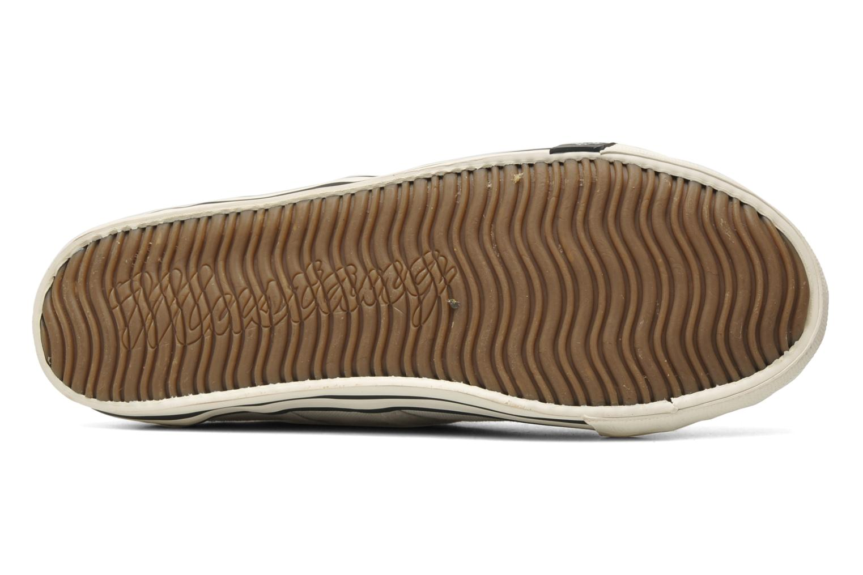 Baskets Mustang shoes Pitaya Beige vue haut