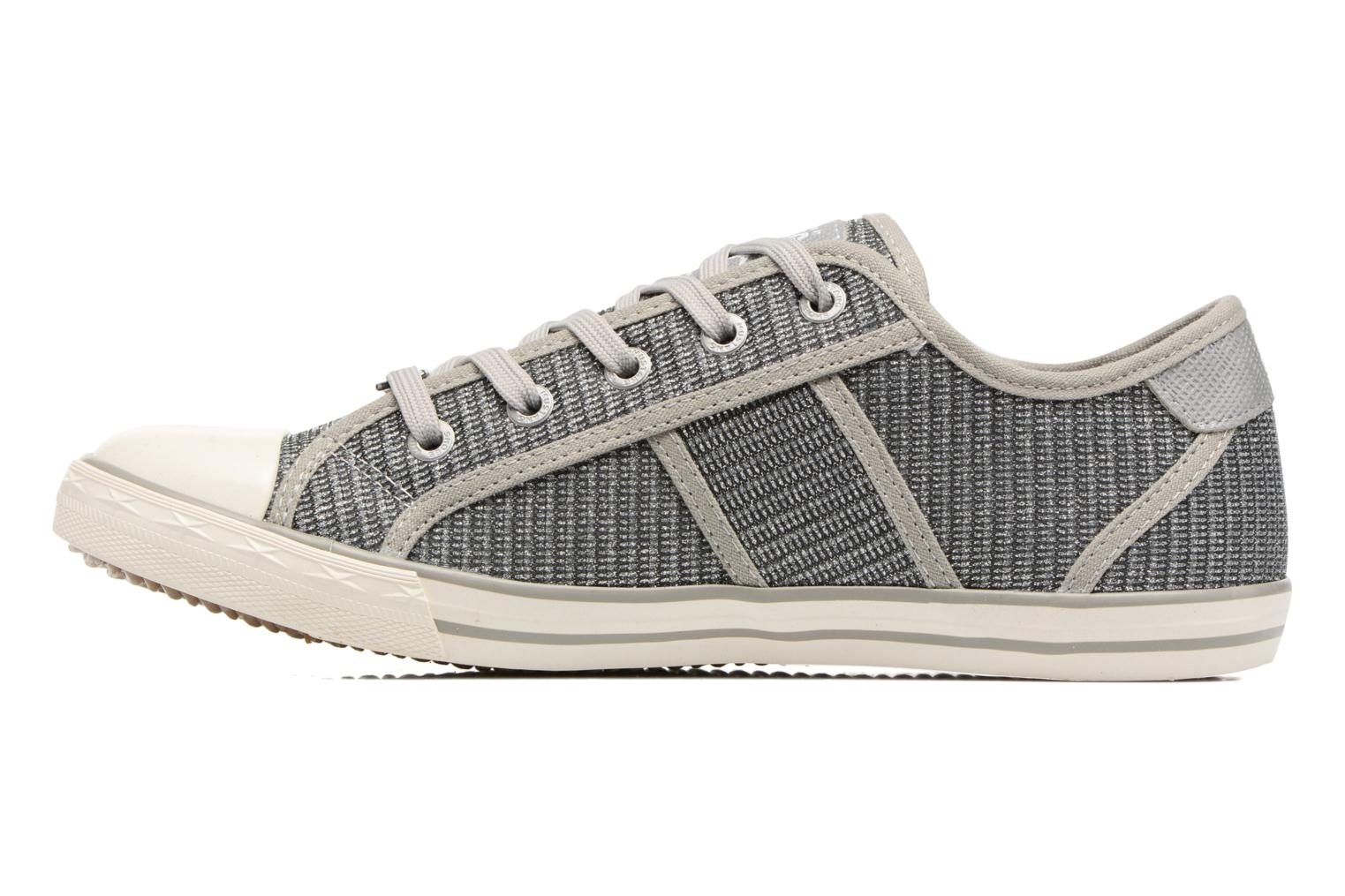 Baskets Mustang shoes Pitaya Argent vue face