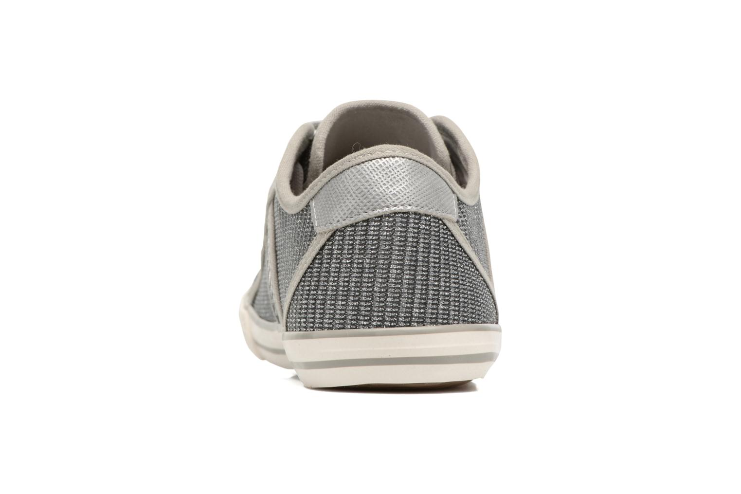 Baskets Mustang shoes Pitaya Argent vue droite