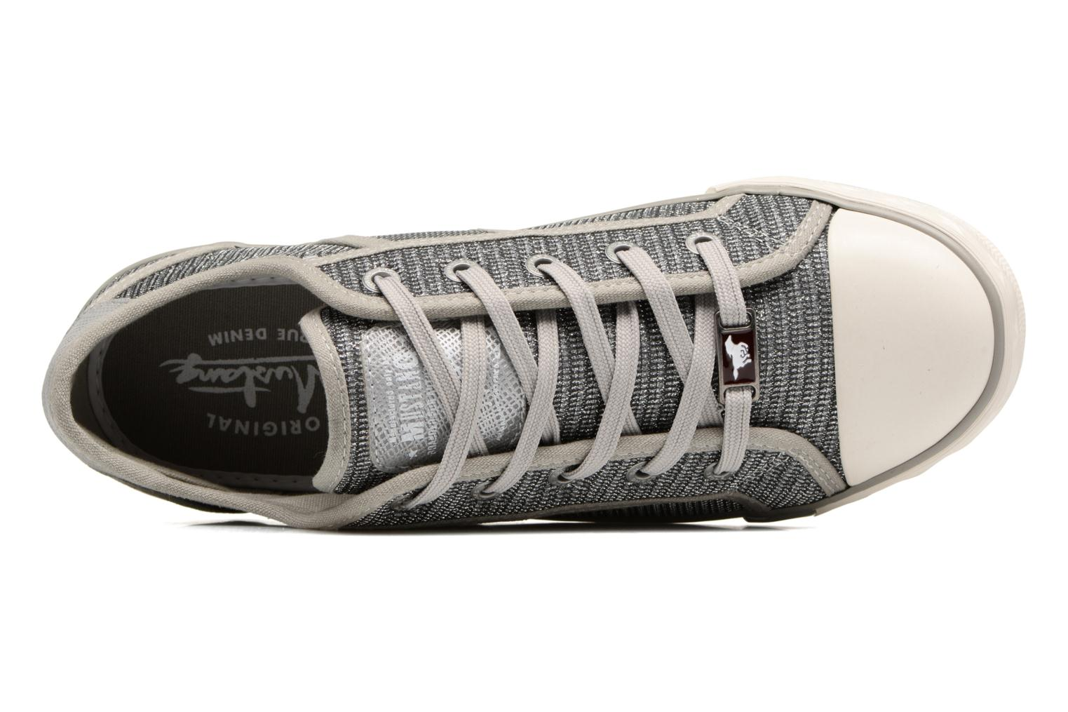 Trainers Mustang shoes Pitaya Silver view from the left
