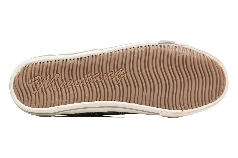 Baskets Mustang shoes Pitaya Argent vue haut