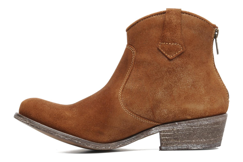 Bottines et boots Valensi Bec Marron vue face