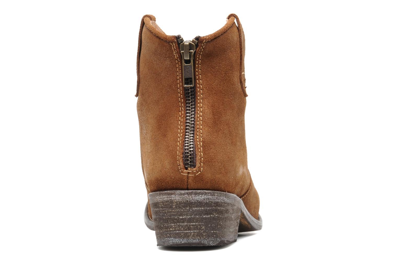 Bottines et boots Valensi Bec Marron vue droite