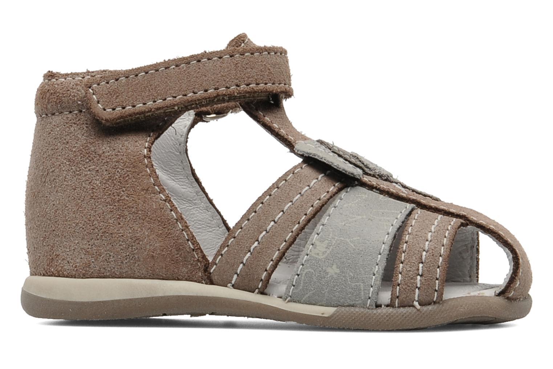 Sandalen Bopy Zimbo Beige achterkant