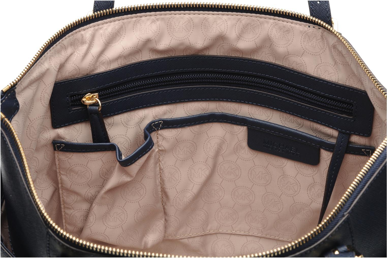 Handtaschen Michael Michael Kors JET SET EW TZ Tote blau ansicht von hinten