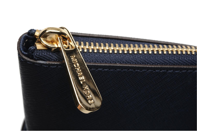 Handtaschen Michael Michael Kors JET SET EW TZ Tote blau ansicht von links