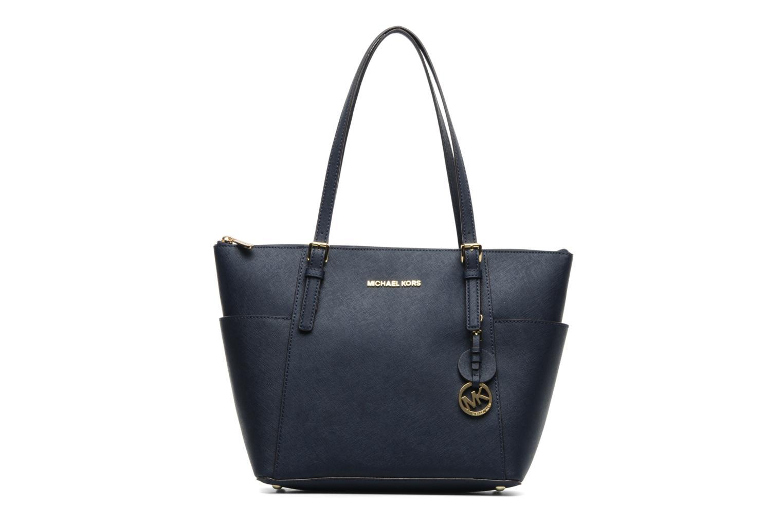 Handbags Michael Michael Kors JET SET EW TZ Tote Blue detailed view/ Pair view