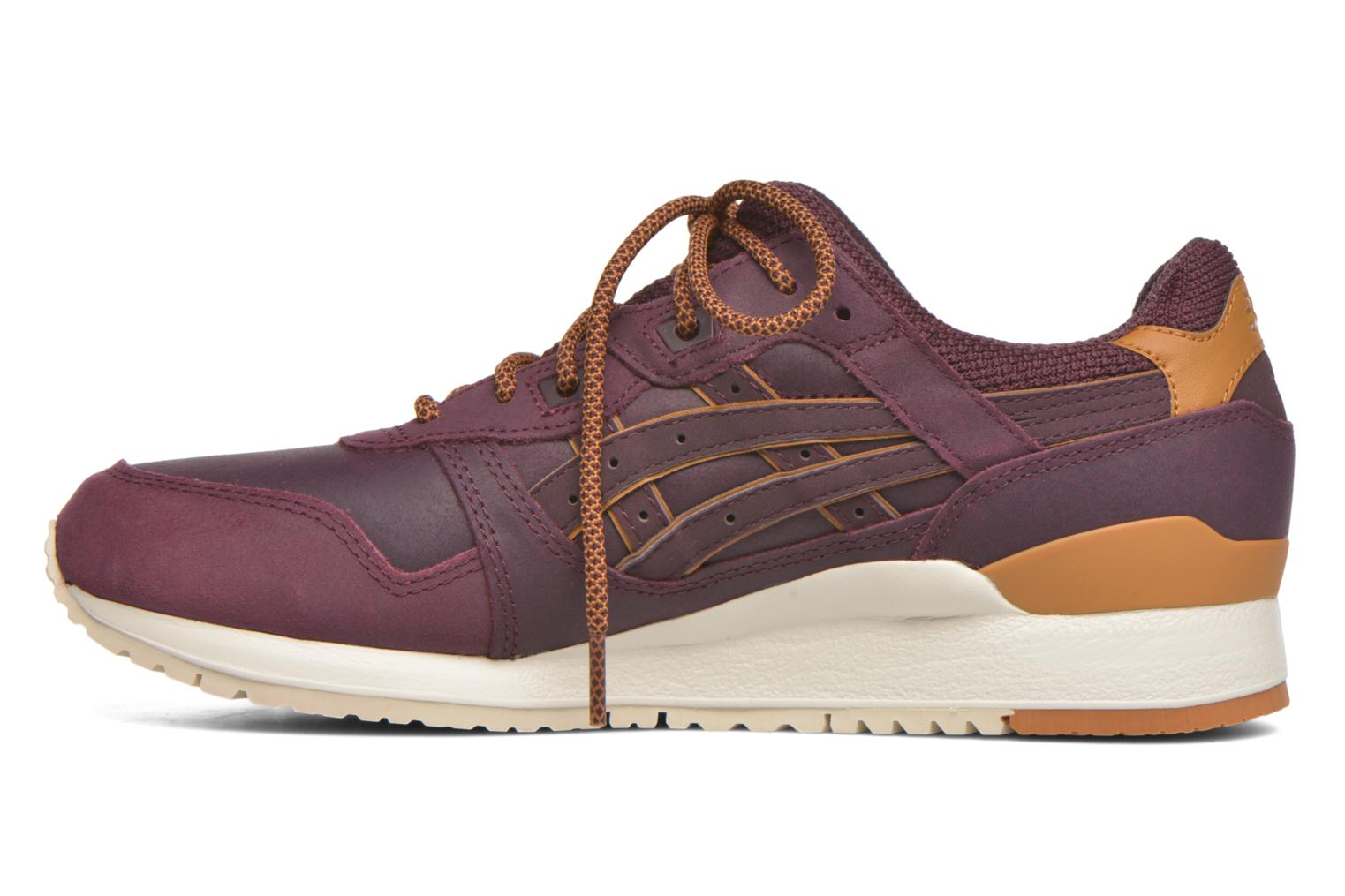 Trainers Asics Gel-lyte III Burgundy front view